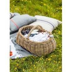 Bembridge Rattan Forage Basket