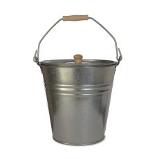 Galvanised Steel Bucket With Lid