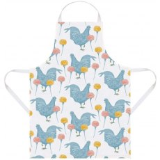 Thornback & Peel Classic Chicken & Carnation Apron