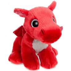 Sparkle Tales Flame Red Dragon Soft Toy