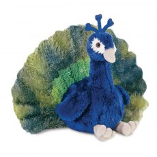 Perry Peacock Soft Toy