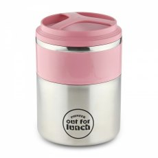Out for Lunch Vacuum Insulated Lunch Box 1.5L Double Layer