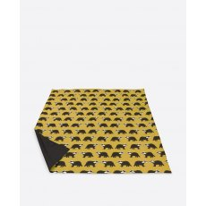Anorak Kissing Badgers Picnic Blanket