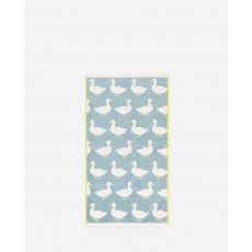 Anorak Waddling Ducks Hand Towel