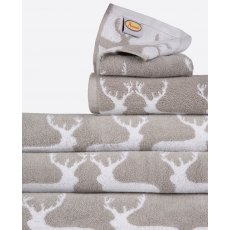 Anorak Kissing Stags Bath Towel