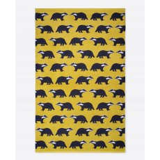 Anorak Kissing Badgers Bath Sheet