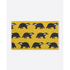 Anorak Kissing Badgers Bath Mat