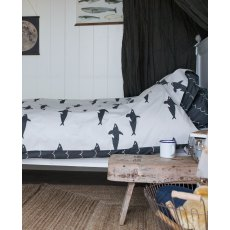Anorak Orca Single Duvet Set (Reversible)