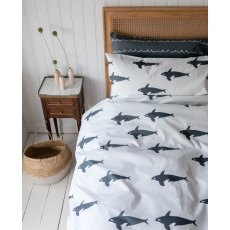 Anorak Orca Double Duvet Set (Reversible)