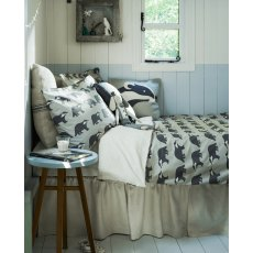 Anorak Kissing Badgers Single Duvet Set (Reversible)