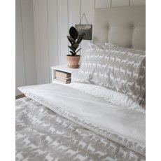Anorak Kissing Stags Double Duvet Set (Reversible)