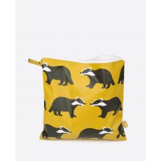 Anorak Kissing Badgers Large Toiletry Bag