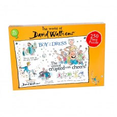 David Walliams The Boy in a Dress 250 piece puzzle