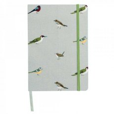 Sophie Allport Garden Birds A5 Fabric Notebook