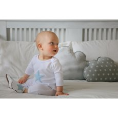 Blue Star Babygrow & Shoes Giftset