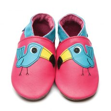 Fuchsia Tish Toucan Shoes 6-12 Months