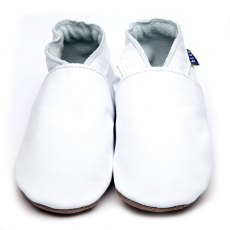 Plain White Shoes 6-12 Months