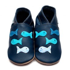 Navy Shoal Shoes 6-12 Months