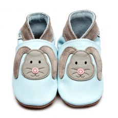 Blue Rag Bunny Shoes 6-12 Months