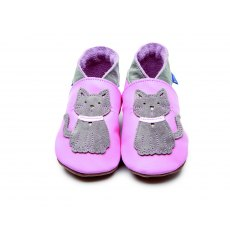 Pink Meow Shoes 6-12 Months
