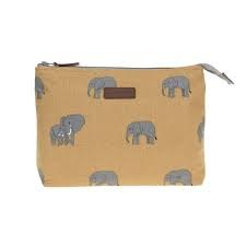 Sophie Allport Elephant Canvas Wash Bag