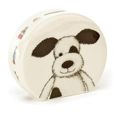Jellycat Bashful Puppy Ceramic Money Box