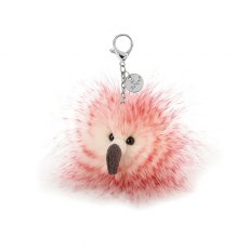 Jellycat Flora Flamingo Bag Charm