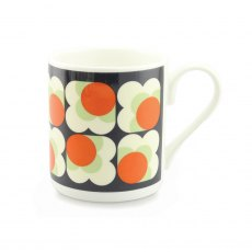 Orla Kiely Persimmon Big Spot Green Mug