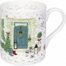 Sophine Allport Home For Christmas Holly & Berry Mug