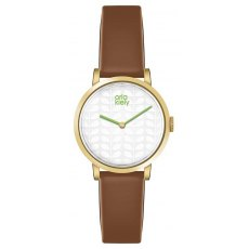 Orla Kiely Luna Leather Strap Watch