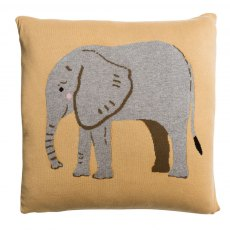 Sophie Allport Elephant Knitted Statement Cushion