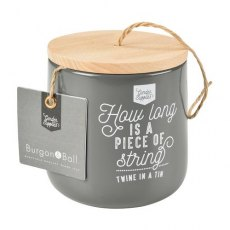 Burgon & Ball Twine Dispenser with 120m of Jute Twine