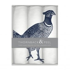 Thornback & Peel Pheasant Handkerchief Box Set