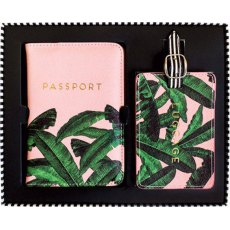 Alice Scott Luggage Tag & Passport Set