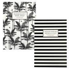 Alice Scott Set of 2 Monochrome Exercise Books