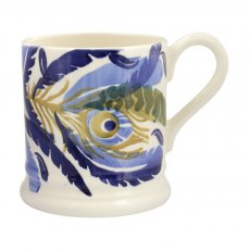 Emma Bridgewater Feather Wreath 1/2 Pint Mug
