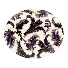 Emma Bridgewater Vegetable Garden Kale Oval Medium Platter