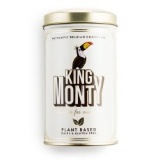 King Monty Tin of Classic Cacao Vegan Chocolate Sticks
