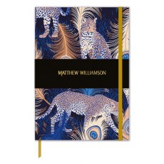 Matthew Williamson Deluxe  Leapord Print Journal