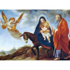 The Flight Into Egypt Christmas Cards
