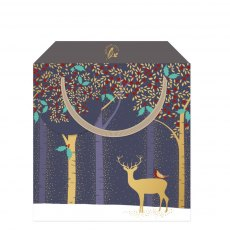Sara Miller Deer Small Gift Bag