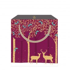 Sara Miller Deer Medium Gift Bag