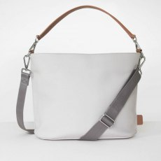Caroline Gardner Finsbury Cross Body & Shoulder Bag Off White