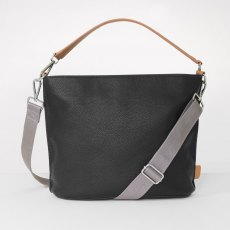 Caroline Gardner Finsbury Cross Body & Shoulder Bag Black