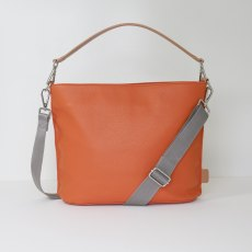 Caroline Gardner Finsbury Cross Body & Shoulder Bag Orange