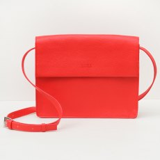 Caroline Gardner Hoxton Cross Body Bag Red