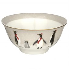 Sara Miller London Penguin Christmas Collection Candy Bowl