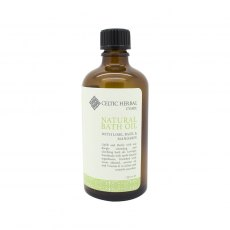 Natural Bath Oil with Mandarin, Lime & Basil 100ml