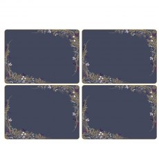 Sara Miller London Garland Collection Placemats Set of 4 Large