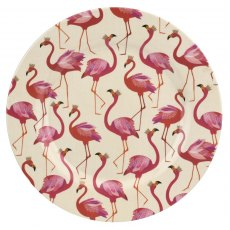 Sara Miller London Flamingo Collection Melamine Dinner Plate